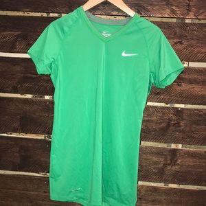 Nike Dri Fit Green Top